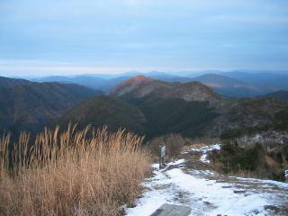 山頂から東