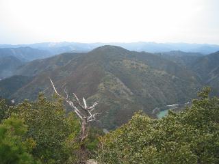 嶽ノ森山山頂から