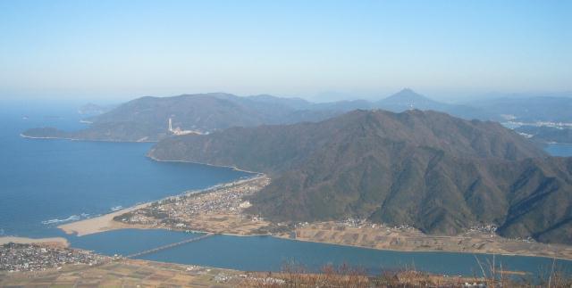 由良ヶ岳東峰から東北