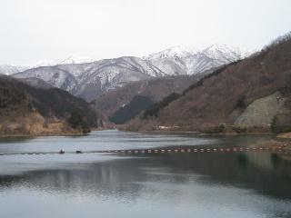 広野ダム湖