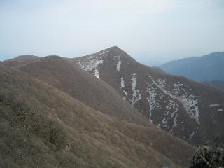 天狗岩から展望丘