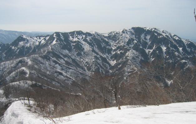 高丸から三周ヶ岳