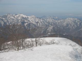 笹ヶ峰方面