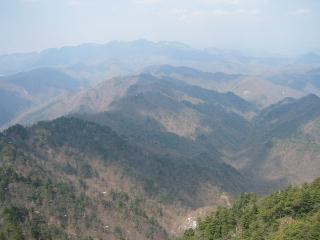 七つ岳方面