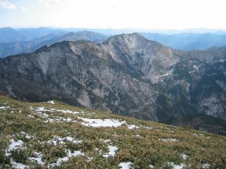 山頂から南部