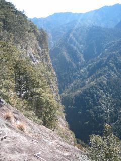 大丹倉(岩の上から)