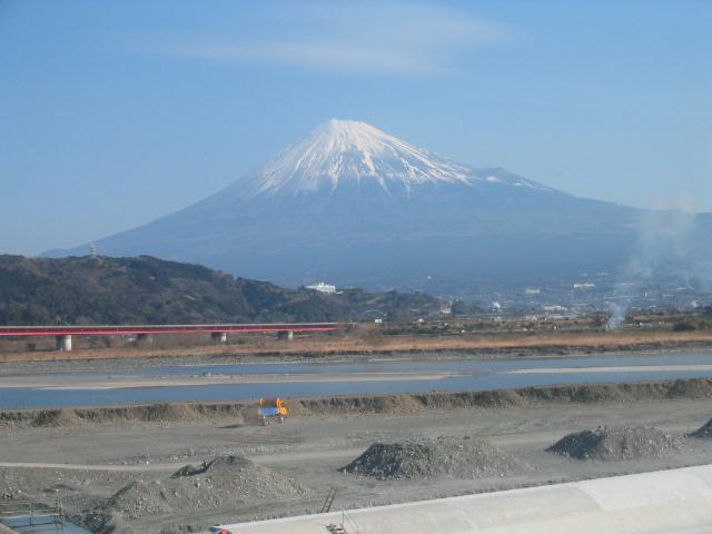 富士川橋から