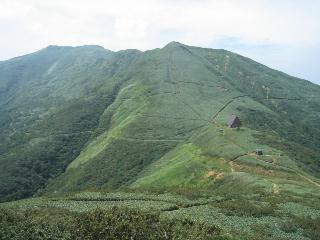 清水峠と七ツ小屋山