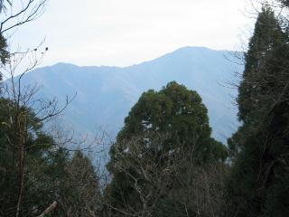武奈ヶ岳方面
