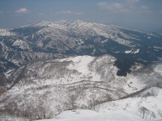 大日岳と和田山牧場