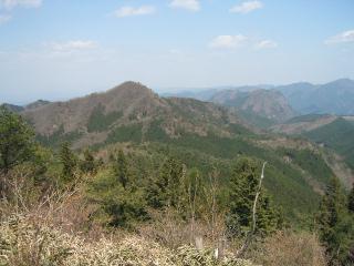 国見山を望む