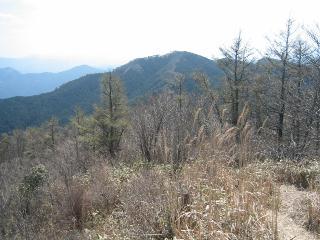 住塚山を望む