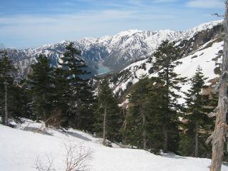 別山と白水湖