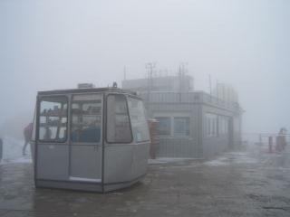 山頂駅の上