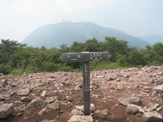 長七郎山山頂