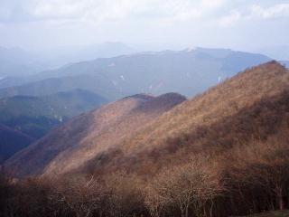 平倉峰から学能堂山