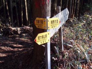 黄色地の標識