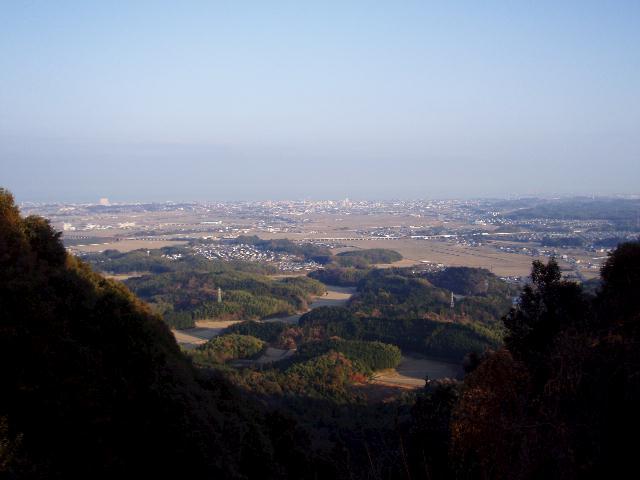 長谷山から