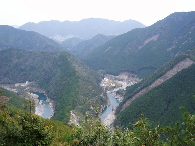 西ノ峰から丸山方面