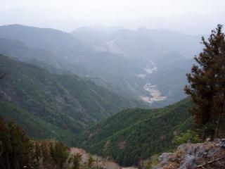 篠尾川沿いの眺望