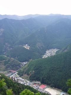 山麓の集落