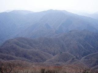 展望丘から南を望む