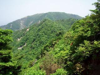 重ね岩、入道ヶ岳