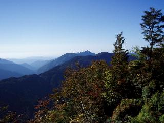 常光寺山から竜頭山