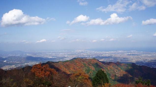 堀坂山から観音岳