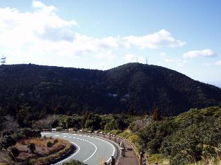 展望台から朝熊ヶ岳