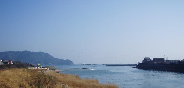 長島橋から