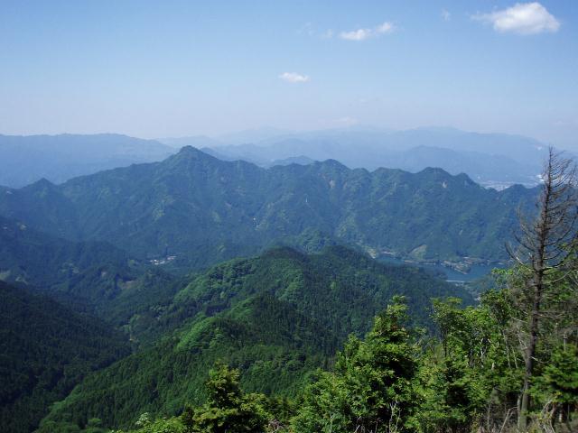 北笠岳から錫杖岳