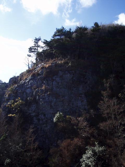 展望岩から