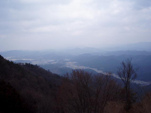 櫛田川沿いを望む