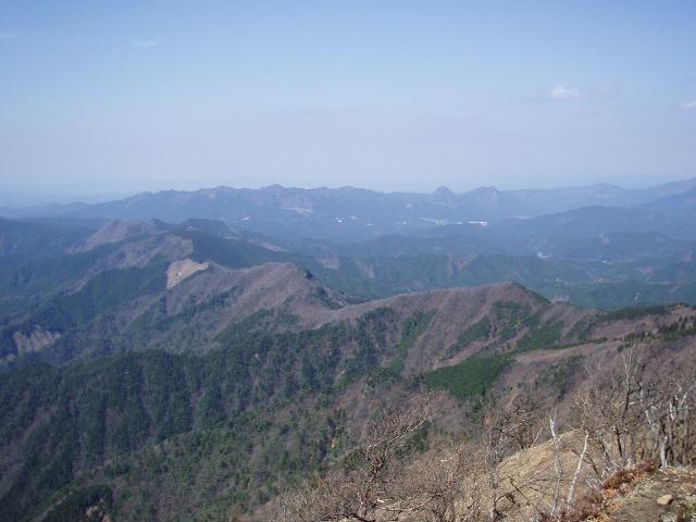 高見山から天狗岳