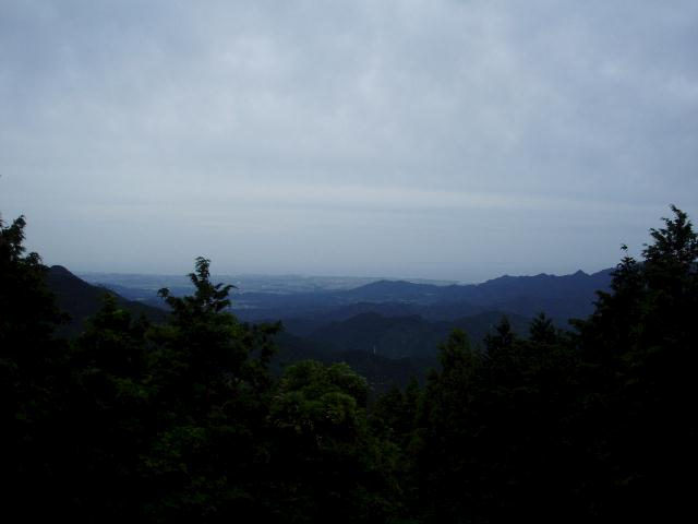 髯山から津市の眺望