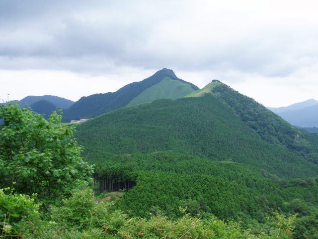 亀山・日本ボソを望む