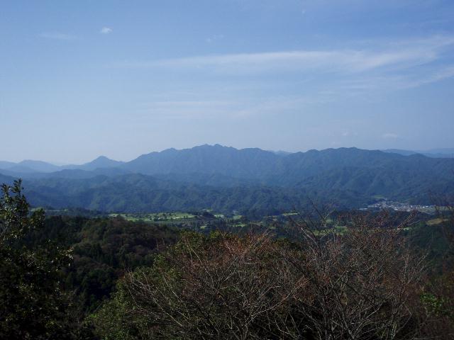 桝形山から矢頭山