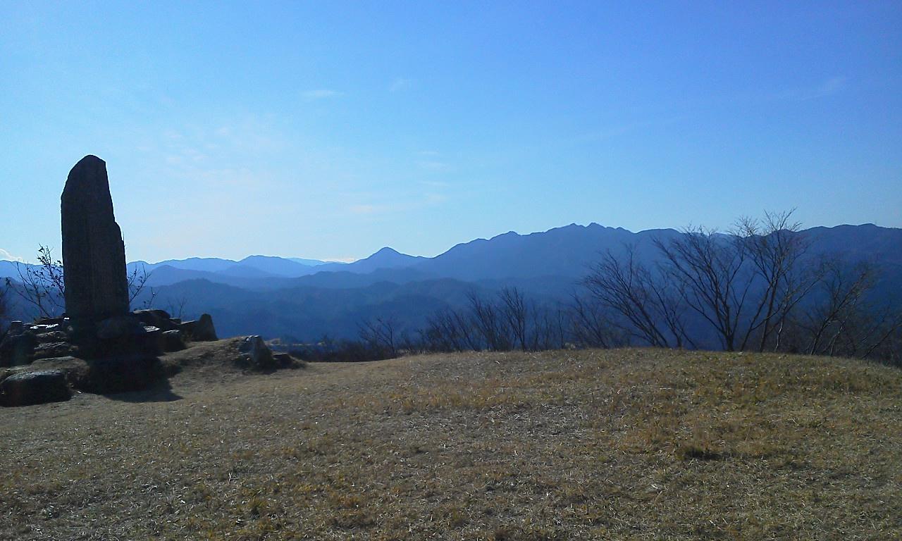 桝形山から